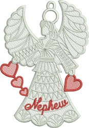 FSL Nephew Angel embroidery design