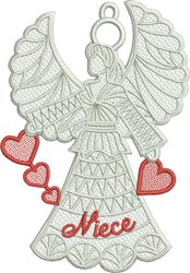 FSL Niece Angel embroidery design