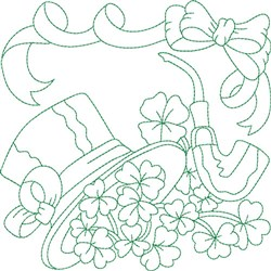Irish Quilt Block embroidery design