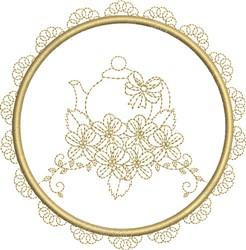 Tea Towel embroidery design