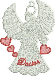 FSL Doctor Angel embroidery design