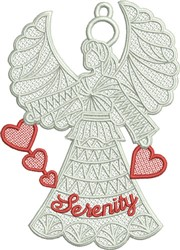 FSL Serenity Angel embroidery design
