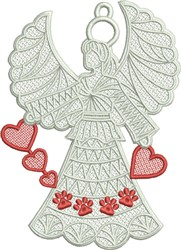 FSL Pet Angel embroidery design