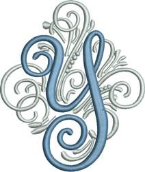 Adorn Monogram Y embroidery design
