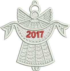 FSL 2017 Angel embroidery design
