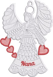 FSL Nana Angel embroidery design