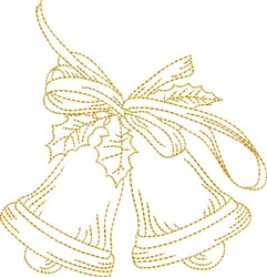 Christmas Jingle Bells embroidery design