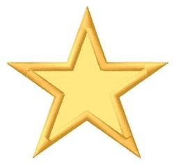 Star Shape Applique embroidery design
