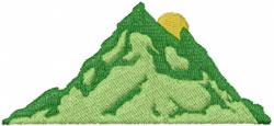 Mountain Scene embroidery design