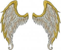 wings machine embroidery design