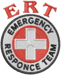 ERT Logo embroidery design