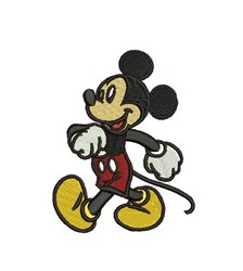 Mickey Mouse Walking embroidery design