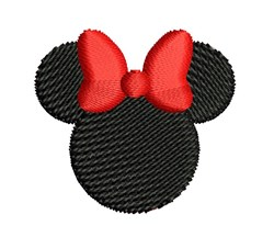 Mini Minnie Mouse embroidery design
