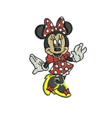 Minnie Mouse Small embroidery design