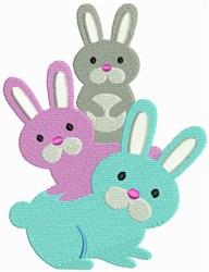 Bunny - Rabbit embroidery design