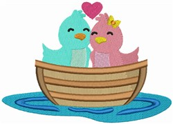 Love Boat - Love Birds embroidery design