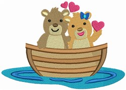 Love Boat - Bears embroidery design