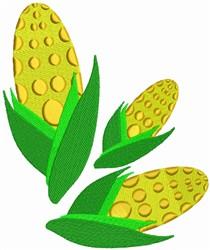 Corn embroidery design