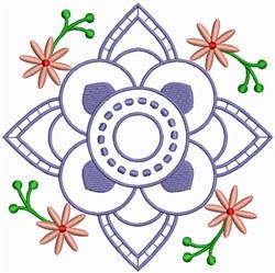 Flower Quilt Design embroidery design