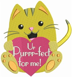 Ur Purfect For Me embroidery design