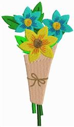 Flower Arrangement embroidery design