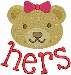 Mama Bear embroidery design