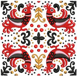 Bird Quilt Block embroidery design