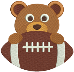 Chicago Bears Football embroidery design