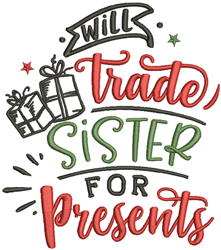 Will Trade Sister embroidery design