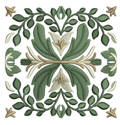 Celtic Tile Quilt Square embroidery design