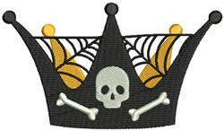 Halloween Crown embroidery design