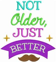 Not Older embroidery design