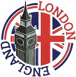 London England embroidery design