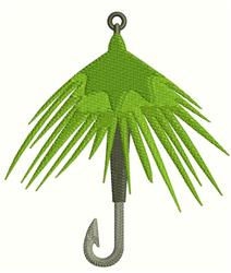 Fishing Bait Wobbler embroidery design