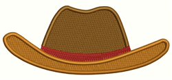 Cowboy Hat embroidery design