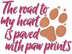 Paw Prints - Animal Lover embroidery design