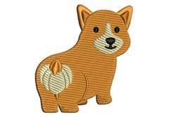 Corgi - Pembroke Welsh embroidery design