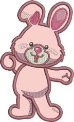 Appliqué Bunny embroidery design