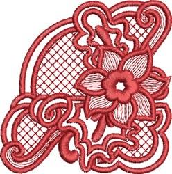 Autumn Squash Blossom embroidery design