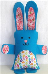 ITH Bunny Softie embroidery design