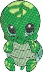 Nadia the Sea Turtle embroidery design