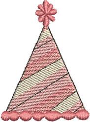 Birthday Hat embroidery design