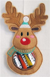 ITH Christmas Candy Bag 3 embroidery design