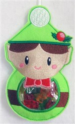 ITH Christmas Candy Bag 4 embroidery design
