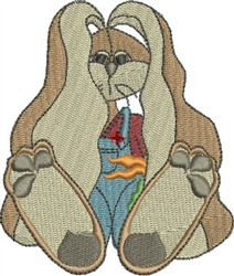 Cuddle Bunny   embroidery design