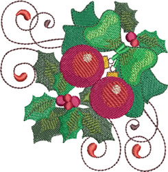 Christmas Ornaments embroidery design