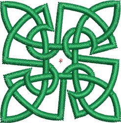 Small Celtic Knot 4 embroidery design