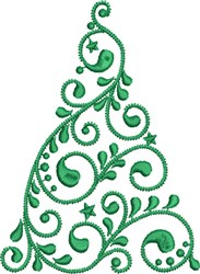 Christmas Tree Decor embroidery design