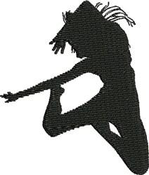 Jazz Dancer embroidery design