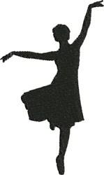 Lyrical Dancer embroidery design